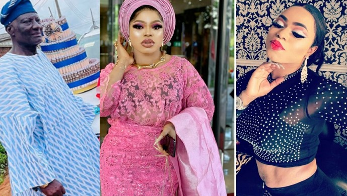 Bobrisky Reveals How He Convinced His Father To Accept Him As A 'Woman'