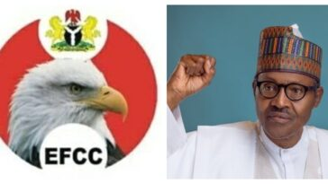 President Buhari Appoints New EFCC Board Members, Asks Senate To Confirm Them