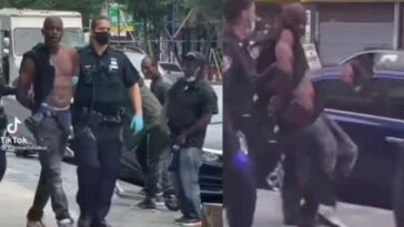 Man Sings And Dances To Davido's Song 'IF' After Being Arrested By Police In US [Video]