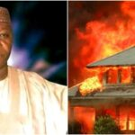 Angry Youths Burns Down Sokoto Commissioner's House 'For Conniving With Bandits'