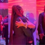 """""""Oh My God"""" - Rihanna Screams In Excitement As She Meets Nigerian Singer, Tems [Video]"""