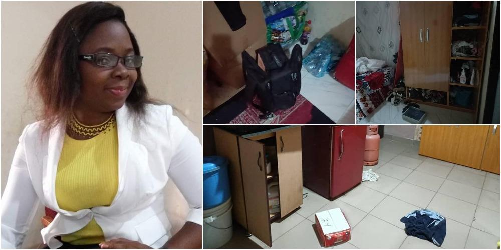 Norah Okafor Accuses EFCC Of Breaking Into Her Home, Destroying Her Properties [Video]