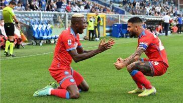 Osimhen double helps Napoli thrash Sampdoria, reclaim Serie A top spot 5