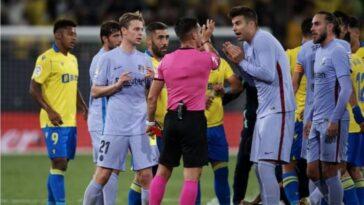 Koeman, De Jong dismissed as Barcelona draw again at Cadiz 4
