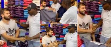 White Man Speaks Igbo To Nigerians In Dubai, Claims He's From Anambra [Video]