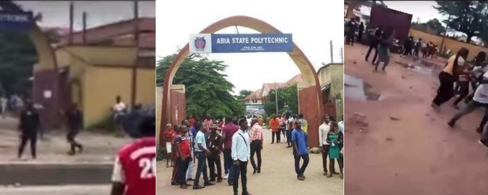 Police Shoot Abia Poly Students Protesting Alleged Gang-Rape Of Colleague By Cops