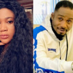 Esther Nwachukwu Claims Junior Pope Slept With Her After She Tattooed His Name On Her Body [Video]