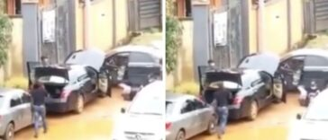 Watch Moment A Man Was Dragged Out Of His Car And Shot Dead In Anambra [Video]