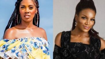 Tiwa Savage And Seyi Shay Reconciles After They Were Seen Fighting At Lagos Salon