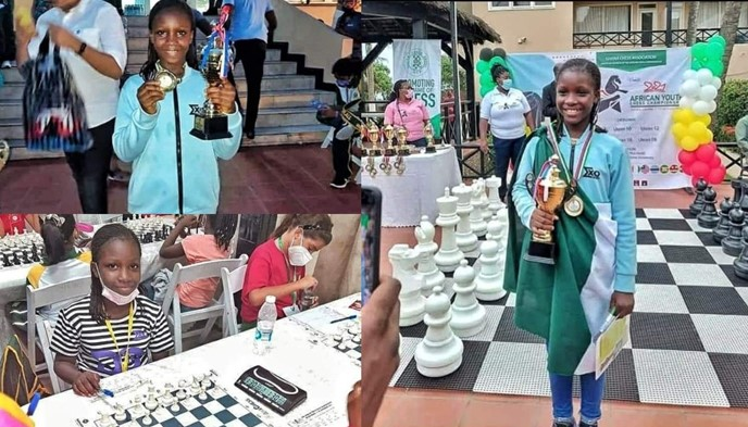 Nigerian Girl, Deborah Quickpen Emerges Winner Of Africa Youth Chess Championship
