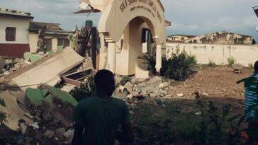 Governor Abdulrazaq Demolishes Saraki Library In Kwara, Claims It's A Criminal Hideout [Video]