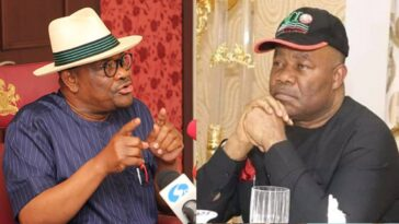 I'll Block Akpabio From Using Roads I Constructed In Port Harcourt - Governor Wike