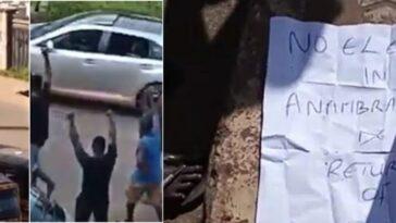 Gunmen On Rampage Kill Seven People, Cows, Declare 'No Election In Anambra' [Video] 1