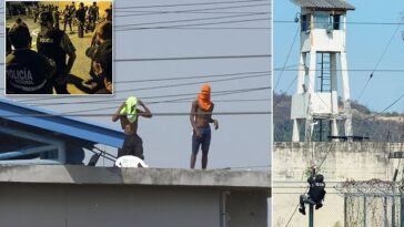 110 Killed, 6 Beheaded, 80 Wounded As Two Gangs Battles In Ecuador Prison [Photos]