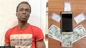 Nigerian Actor, Chekwume Malvin Arrested After He Was Caught Selling Drugs In India