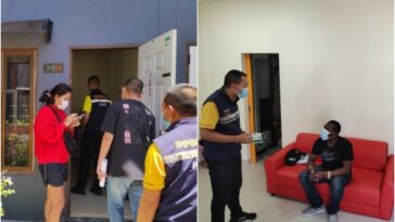 Nigerian Man And Thai Woman Arrested For N134m Romance Scams In Thailand [Photos]