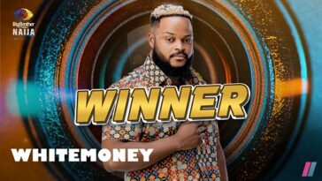 Whitemoney Wins N90 Million Grand Prize For BBNaija Season 6, Shine Ya Eye Edition