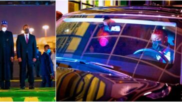 Ethiopian Prime Minister 'Becomes' Buhari's Personal Driver In Addis Ababa [Photos]