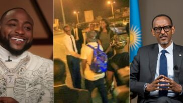 Davido Reveals How He Felt When Rwanda President Picked Him Up From The Airport