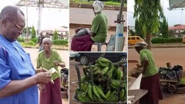 Slain Dr. Chike Akunyili Filmed Buying Woman's Entire Plantain To Support Her [Video]