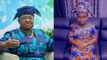 WTO DG, Okonjo-Iweala Reacts To Viral Photo Of Little Girl Who Dressed To Look Like Her