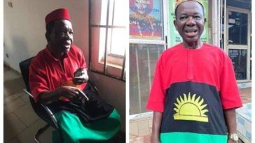 Biafra: DSS Flies Actor Chiwetalu Agu To Abuja, Bars Family From Visiting Him