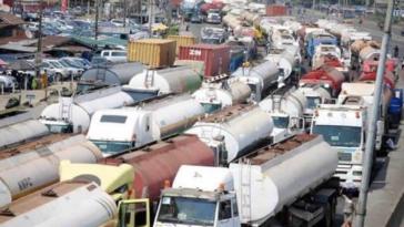 Petroleum Tanker Drivers Begins Nationwide Strike Over Bad Roads In Nigeria