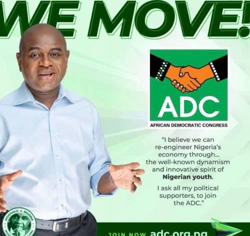 2023 Presidency: Kingsley Moghalu Dump YPP, Ask His Supporters To Join Him In ADC