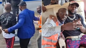 Davido's Bodyguard Pushes Airport Official Who Tried Snapping Picture With Him [Video]