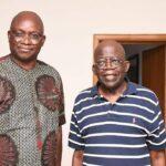 """I Am Unrepentant PDP Leader"" - Fayose Says After His Visit To APC Leader, Tinubu"