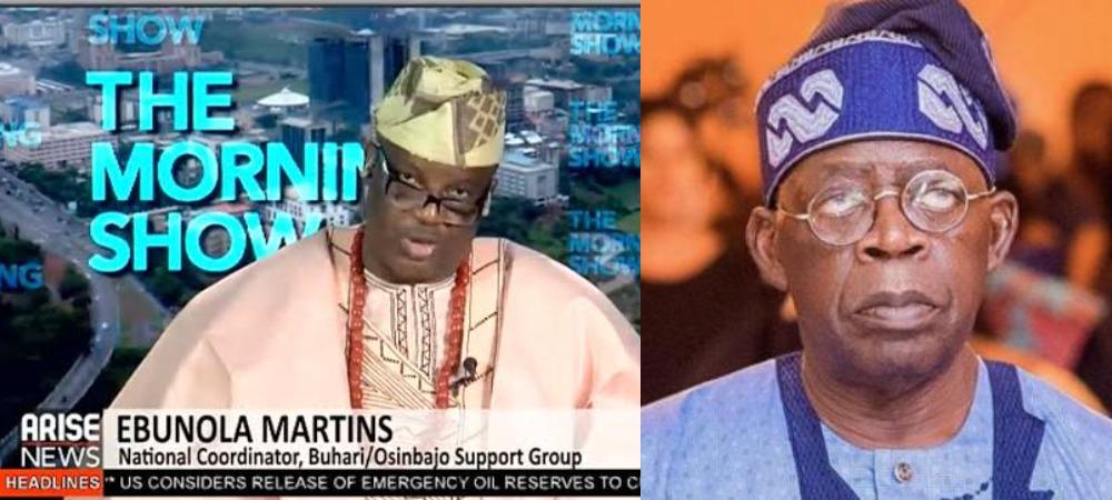 Bola Tinubu Should Support South-East For 2023 Presidency – Buhari/Osinbajo Group