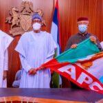Anambra Deputy Governor Dumps APGA, Meets President Buhari After Joining APC