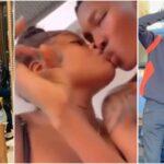 Zinoleesky Caught On Camera Kissing Naira Marley's Sister, Shubomi Fashola [Video]