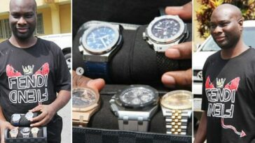 Court Orders Interim Forfeiture Of Mompha's Designer Wristwatches, iPhone, Glasses