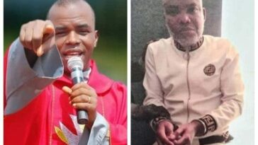 Father Mbaka Attacks Igbo Leaders For 'Shying Away From Talking About Nnamdi Kanu'
