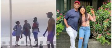 """""""My Husband And Women Are 5 & 6"""" – Regina Daniels Says As Ned Nwoko Is Spotted With Two Ladies [Video]"""