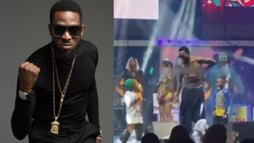 D'Banj Gifts Two Upcoming Artistes N1 million Each At Felabration [Video]
