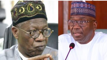 Lai Mohammed Stole N100m Sent To Me By Igbo Businessman - Governor AbdulRazaq