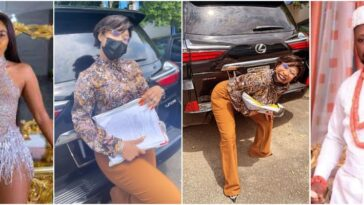 Tonto Dikeh Mocks Janemena, Flaunts Lexus SUV She Seized From Kpokpogri [Video]