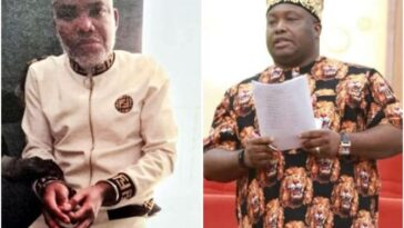 Senator Ifeanyi Ubah Seeks Court Permission To Visit Nnamdi Kanu In DSS Detention