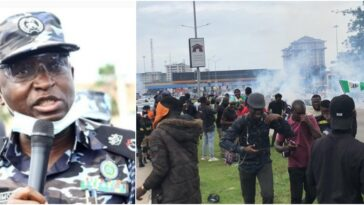 EndSARS: Police Commissioner Reveals Why He Ordered Tear Gas On Protesters [Photos]