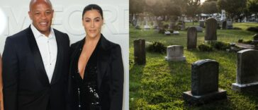 Dr Dre's Wife Serves Him Divorce Papers At Cemetery During His Grandmother's Burial