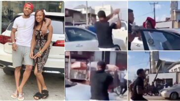 """""""That's Not My Daughter"""" - Charles Okocha Clarifies Viral Video Of Him Attacking A Friend"""
