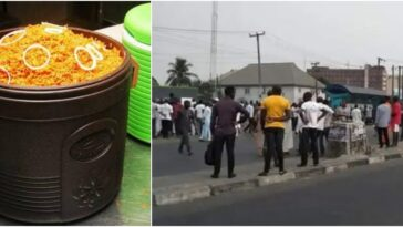 Drama As Rivers Task Force Officials Clashes With Soldiers Over Food In Port Harcourt