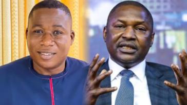 Sunday Igboho Reacts As Malami Identifies Federal Lawmaker As His Major Financier