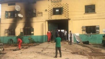 Many Inmates Escapes As Gunmen Attacks Oyo Prison