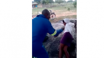 Traditional Chief Flogs Two Teenage Lovers In Public As Punishment [Photos/Video] 5