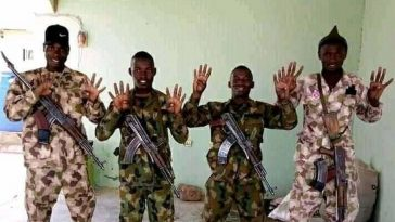 Nigerian Army Disown Four Soldiers Who Publicly Declared Support For Buhari 4