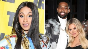 Cardi B Shades And Defends Khloe Kardashian Over Split With Tristan Thompson [Video] 6
