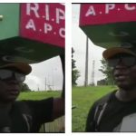 Man Who Celebrated Buhari's Victory By Trekking To Abuja, Returns With APC Casket On His Head [Photos] 27